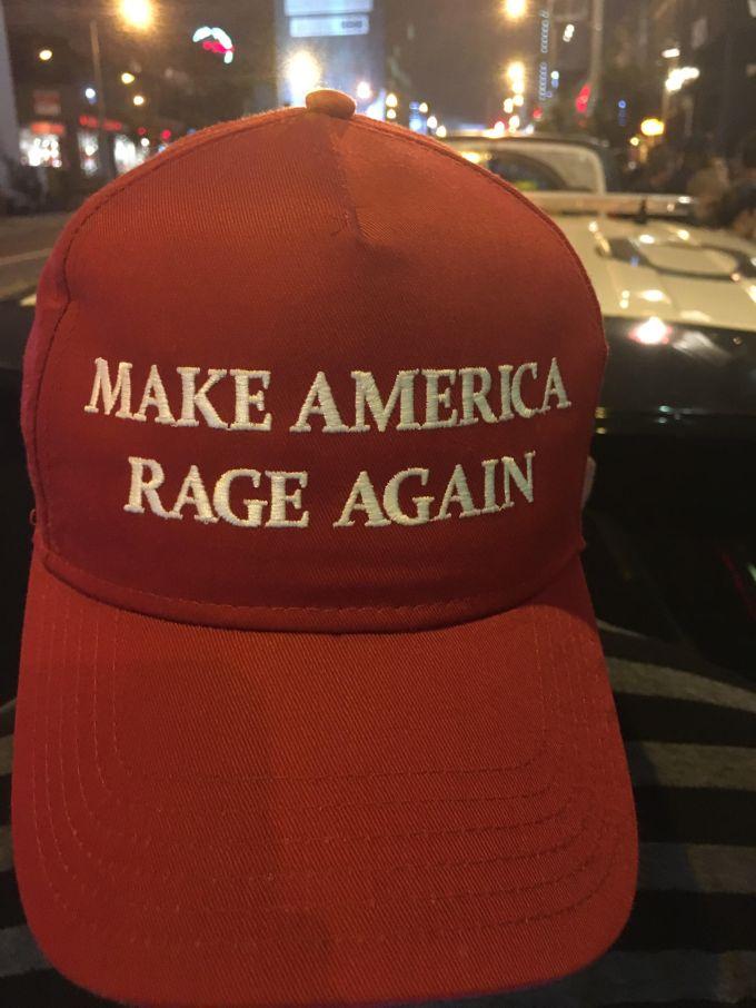 Tom Morello Hat 2016 Donald Trump Parody